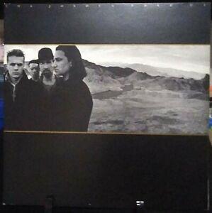 U2 The Joshua Tree Gatefold Album Released 1987 Vinyl Collection USA