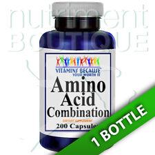 Amino Acid Combination  200 Caps L-Arginine/L-Ornithine/L-Glysine/L-Lysine -VB