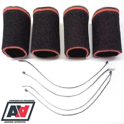 2 x RAMAIR Carb Sock Air Filters Double Trumpet Weber DCOE Dellorto DHLA