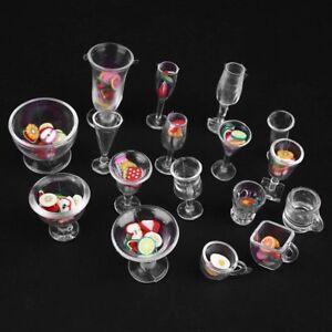 17pcs-Set-Plastic-Goblets-Dollhouse-Tableware-DIY-Toy-Cups-Mini-Decor-Dish