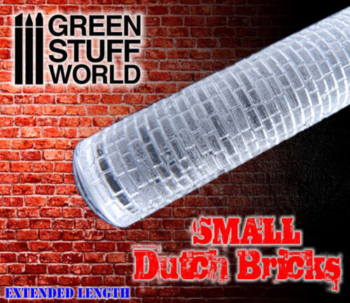 small DUTCH BRICKS Texture Rolling Pin Create your bases Ininity Warhammer