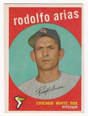 1959 Topps #537 Rodolfo Arias White Sox VG