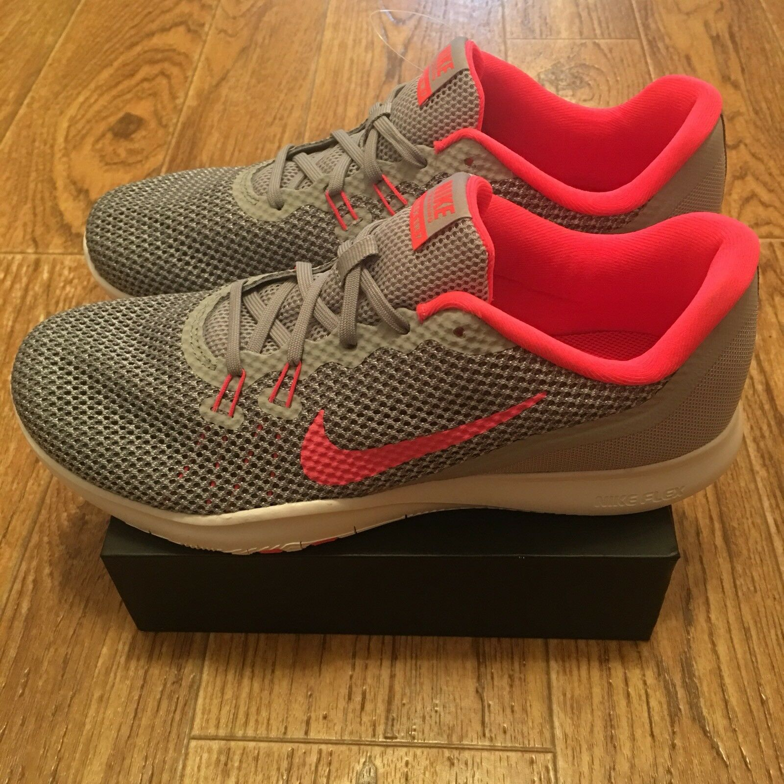 sports shoes 9d6c3 30f70 Nike W Flex Trainer 7  898479-006   898479-006   898479-006  Women Training  Shoes Wolf Grey Racer Pink NEW 51aae9