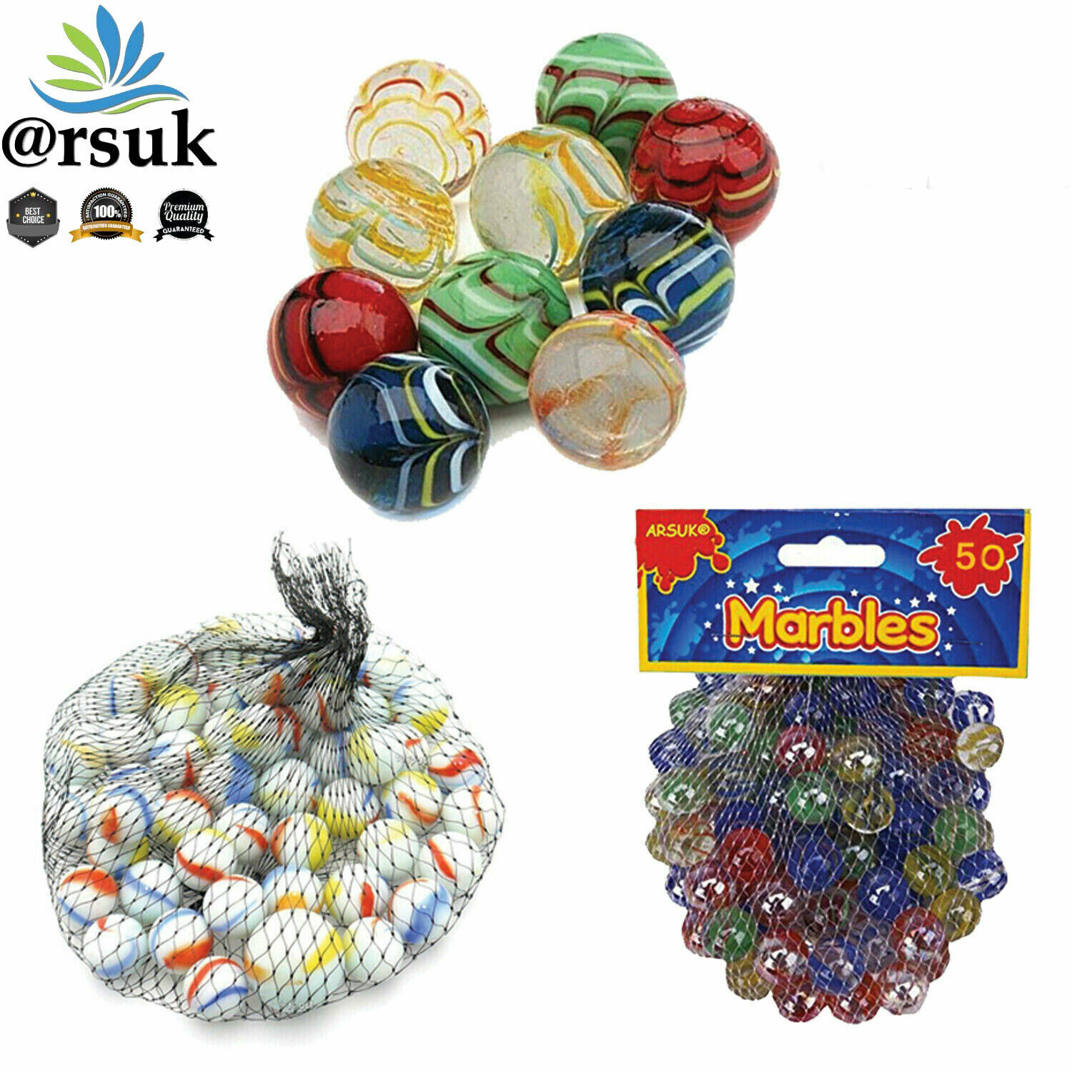 HI-QUALITY MARBLES Kids Glass Toys Traditional Games Retro VINTAGE CLASSIC GAME