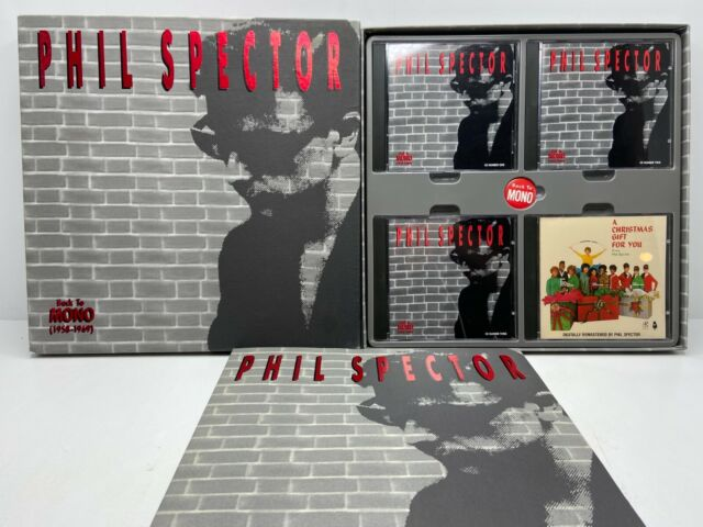 Phil Spector (4-CD Box Set) Back To Mono COMPLETE W/ Lyric Booklet & Button