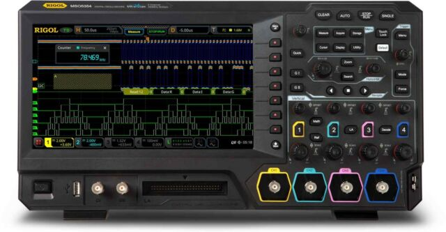 Rigol MSO5072 Mixed Signal Digital Oscilloscope 70 MHz