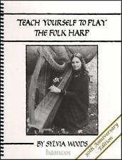 Teach Yourself to Play The Folk Harp Sylvia Woods Tutor Music Book 30th Anni Edn