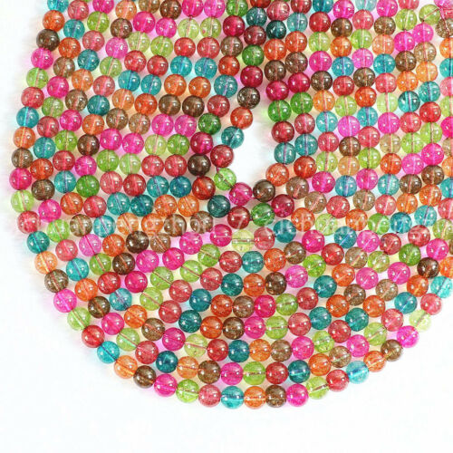 """Natural 10mm effetto multicolore tormalina round Loose Beads 15/"""" AAA all/'ingrosso"""