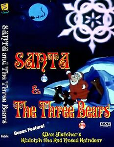 Santa-and-the-Three-Bears-Christmas-Animation-Anime-Children-039-s-Favorite-DVD-R