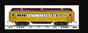 MTH tinplate traditions 10-1136 Illinois add on state car Sealed in box & shippe