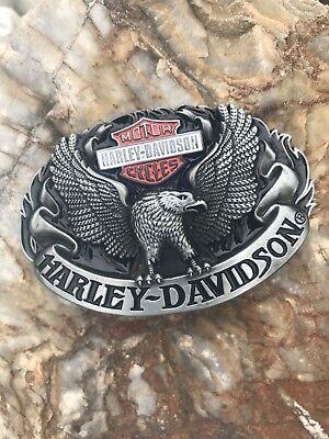 Bescheiden Gürtelschnalle - Harley Davidson - Motor Cycles Buckle Top Professionelles Design