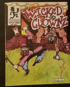 Insane Clown Posse - Wicked Clownz Comic Book 2nd Press Riddle Box ICP twiztid