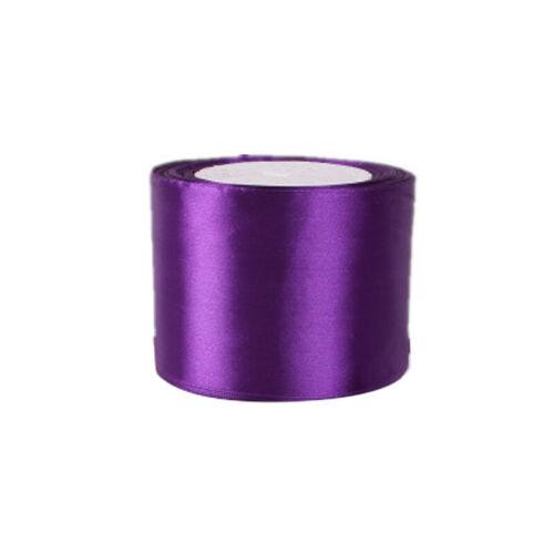 25Yard 1//2//4//5//8cm Wide Silk Satin Ribbon Wedding Party Birthday Package Supply