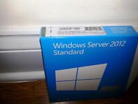 Microsoft Windows Server 2012 Standard, Sku P73-05363, 64-bit, Full Retail,5 Cal