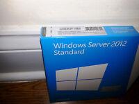 Microsoft Windows Server 2012 Standard, Sku P73-05363, 64-bit, Full Retail,5 Cal