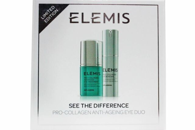 Elemis Pro collagen Eye Duo See The Difference Exp.Date 2021 Eye Renewal New Box