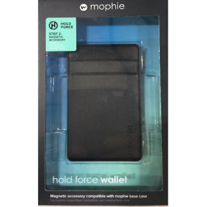 size 40 056a7 56441 mophie Hold Force Wallet for iPhone X 7/8 & Plus Base Case - Black ...