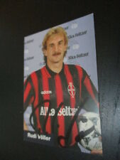 65936 Rudi Völler Bayer Leverkusen DFB original signierte Autogrammkarte