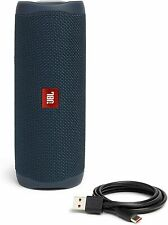 JBL Flip 5 Portable Waterproof Bluetooth Speaker - Blue JBLFLIP5BLUAM