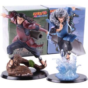 Naruto-Shippuden-Hashirama-Senju-Tobirama-Senju-PVC-Action-Figure-Model-Toy