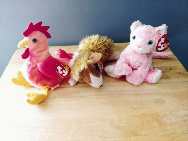 TY Beanie Baby - CASSIE the Collie (7 inch) - MWMTs Stuffed Animal Toy lot of 3
