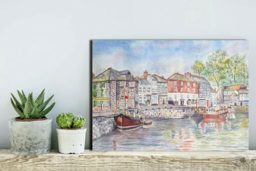 PADSTOW CORNWALL POSTERS AND PRINTS UPTO A0 SIZE FRAMES AVAILABLE