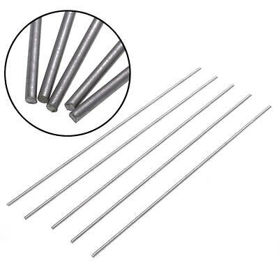25cm 5 Stück Titan Ti Grade 5 GR5 Metall Stangen Stick Bar Stab  Rund 3mm
