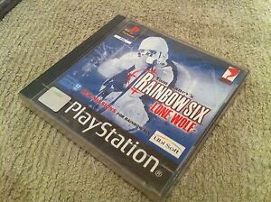 Rainbow-Six-Lone-Wolf-Playstation-PS1-NEUF-SOUS-BLISTER-FR