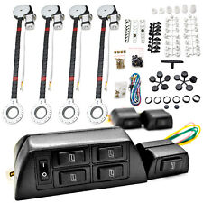 4 Car Window Power Kit For Honda Accord Civic del Sol CR-V CRX Fit Prelude