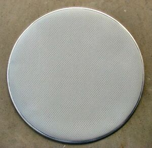 """18"""" White 3-Ply Mesh Bass Drum Head Electronic Heavy Duty Feel Like Traditional"""