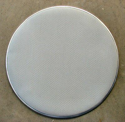 "13/"" White 3-Ply Mesh Drum Head Electronic Vdrum Heavy Duty Feel Like Traditional"