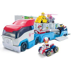 Paw-Patrol-Spiel-Set-Truck-Paw-Patroller-Einsatzfahrzeug-mit-Licht-amp-Sound