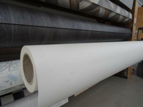 - 2m Breite PVC Bodenbelag in Uni-Farbe 5,75 €//m² gedecktes weiß