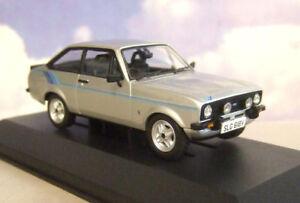 CORGI-VANGUARDS-1-43-1980-FORD-ESCORT-MKII-MK2-1-6-HARRIER-STRATO-SILVER-VA12611
