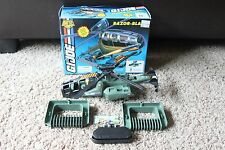 Vintage Hasbro 1994 Gi Joe Battle Corps Razor Blade Helicopter w/ Box PARTS 1993