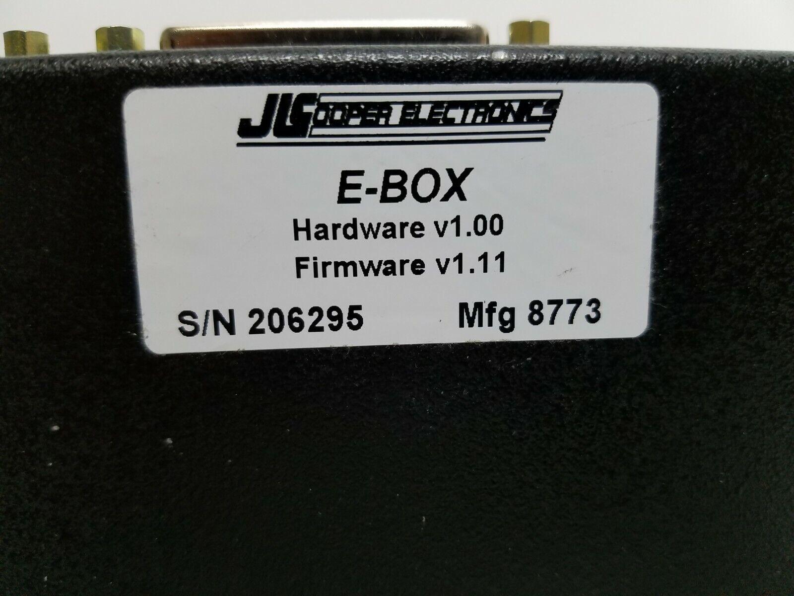 Jlcooper Jlcooper Jlcooper E-Caja portal de interfaz Ethernet para productos Jl Cooper 7b92b9