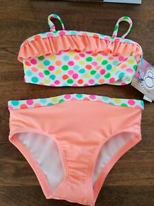 NEW OP Rashguard Board Shirt Shorts 2pc Swim Bathing Suit Outfit Girls 2T 3T 4T