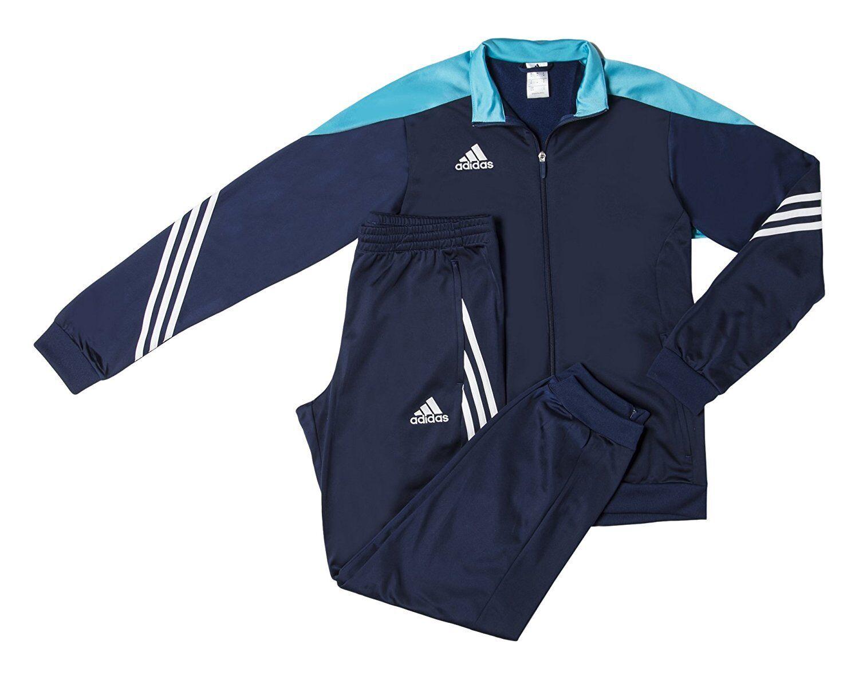 Adidas Sere14 Pes Suit Tuta da Ginnastica, azul, F49713