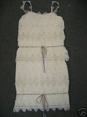 Vestido  De Encaje nuevo Nuevo con etiquetas Anna Sui  642 Y Cinta De Seda Talla 2  elige tu favorito