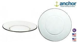 Anchor-Hocking-86037-Large-Glass-Pie-Dinner-Plate-Serving-Dish-10-034