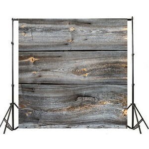 10x10ft Gray board Backdrop Background Studio Props Photography Vinyl