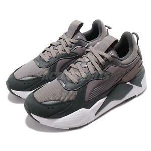 Détails sur Puma RS X Trophy Running System Dark Shadow Grey White Men Shoes 369451 03