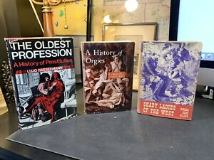 Lot-Of-3-Vintage-History-Of-Prostitution-Orgies-Shady-Ladies-Of-The-West-Books