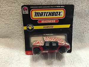 HUMMER-HUMVEE-1-64-1998-TACO-BELL-SERIES-MATCHBOX-COLLECTIBLE