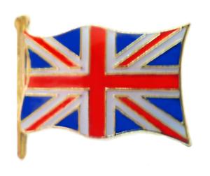 LAST FEW United Kingdom Union Jack Flag Pin Badge
