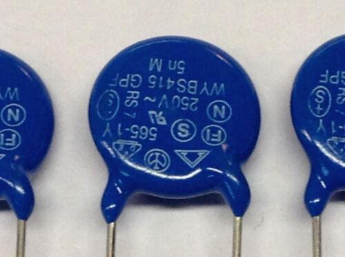 m0649 5 trozo 5000 pf//250 V cerámica condensadores