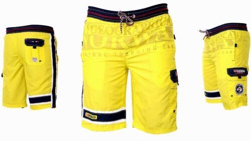 Geographical Norway Herren Bade Hose Bade short Schwimmshort Sommer Lang Shorts