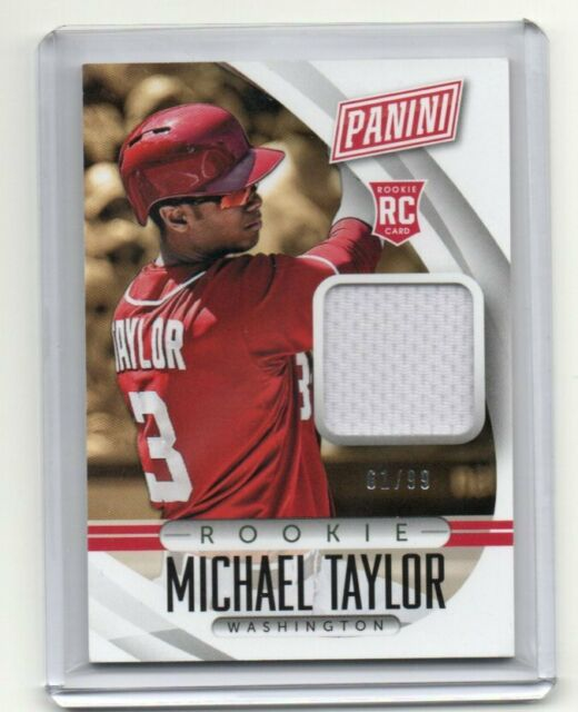 2015 Panini The National Michael Taylor Rookie Jersey 61/99 | eBay