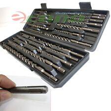 20pc Sds Plus Hammer Drill Bits Withcarbide Tip Flute Concrete Masonry Bricks Bit