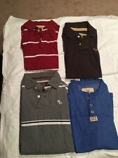 Lot of 4 Abercrombie & Fitch Hollister Shirts Medium B22